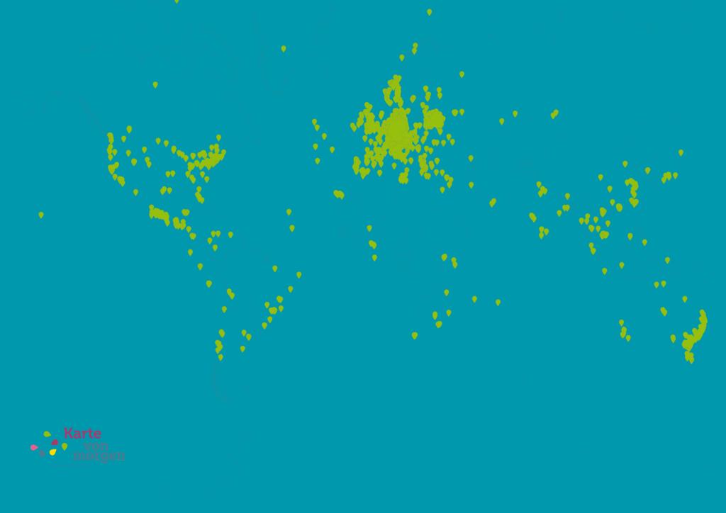 Die Weltkarte von morgen